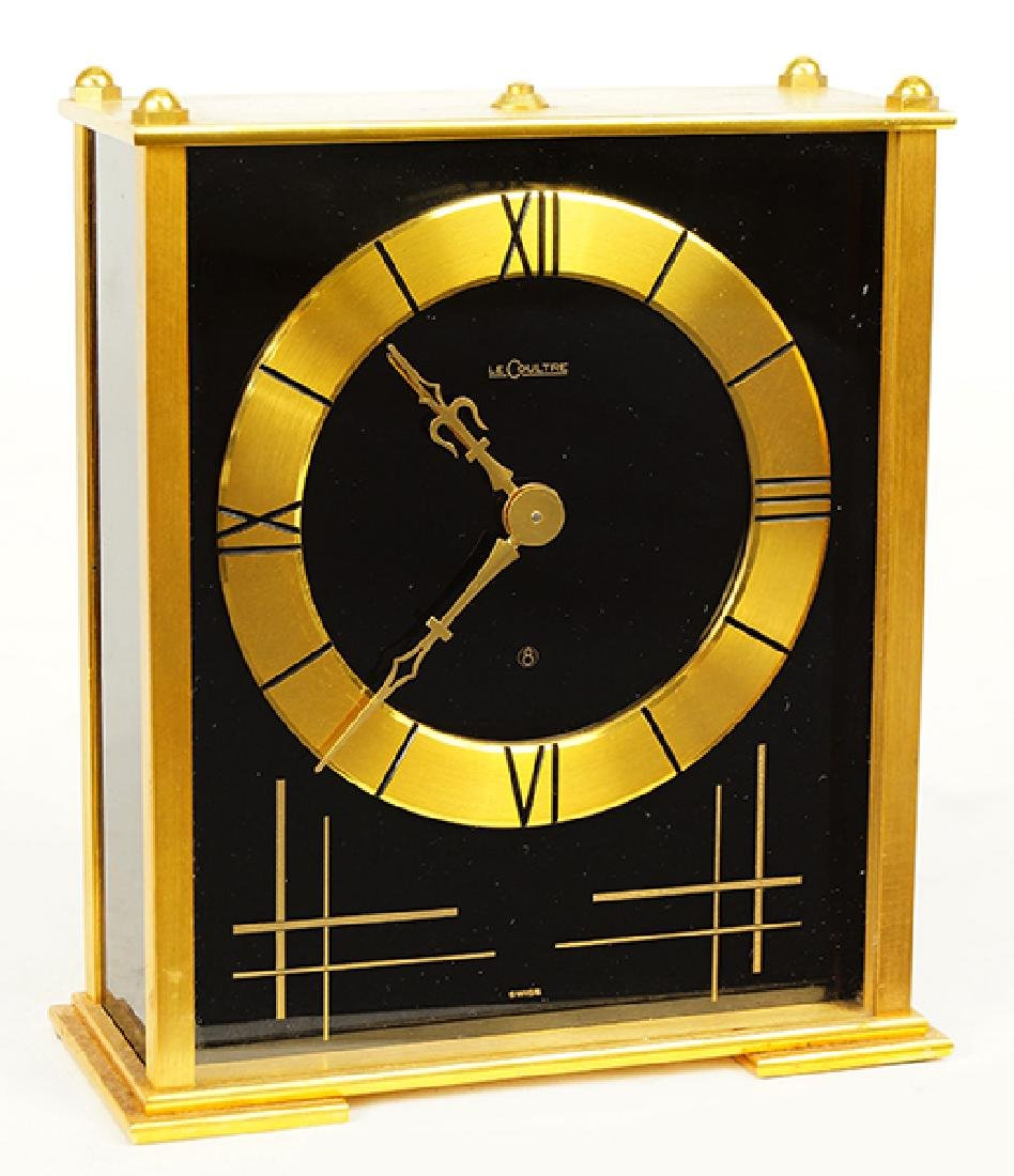 Le Coultre 8 Day Musical Clock.