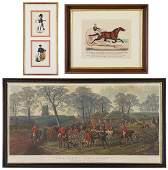 An English Fox Hunt Print