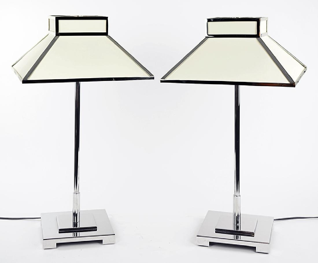 A Pair of Contemporary Table Lamps.