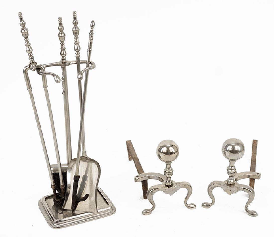 A Collection of Fireplace Accessories.