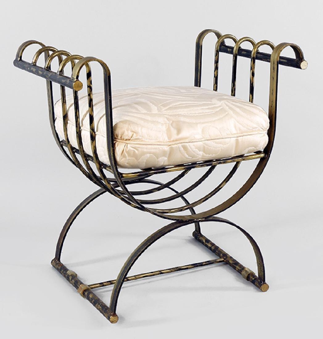 A Savonarola Chair.
