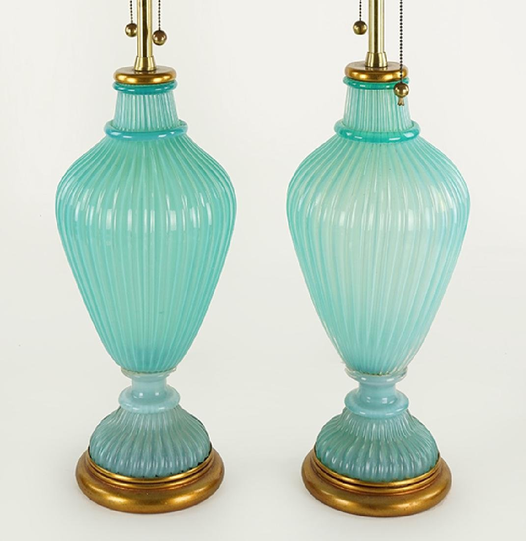 A Pair of Marbro Table Lamps.