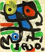 Joan Miro Spanish 18931983 Untitled