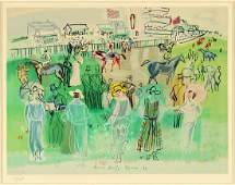 After Raoul Dufy (French, 1877-1953) Epsom Races.