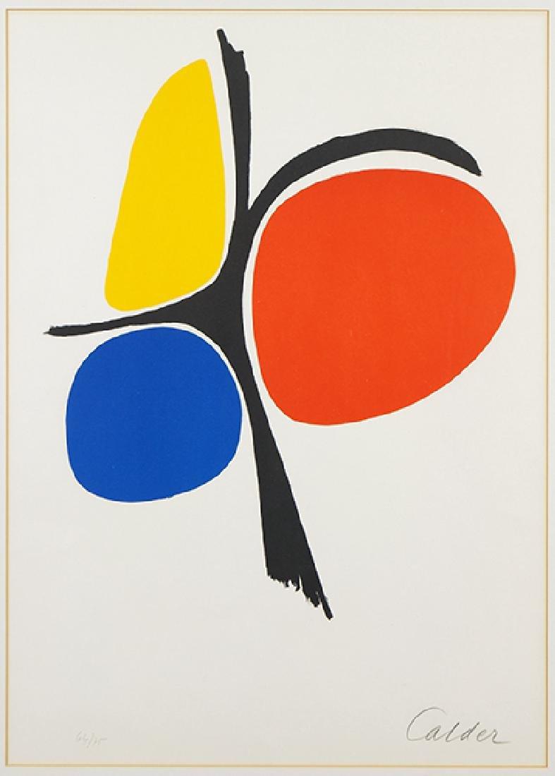 Alexander Calder (American, 1898-1976) Untitled.