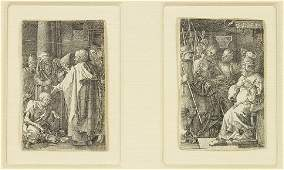 Albrecht Durer (German, 1471-1528) Two Engravings.