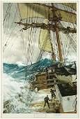 After Montague Dawson (British, 1890-1973) The Rising