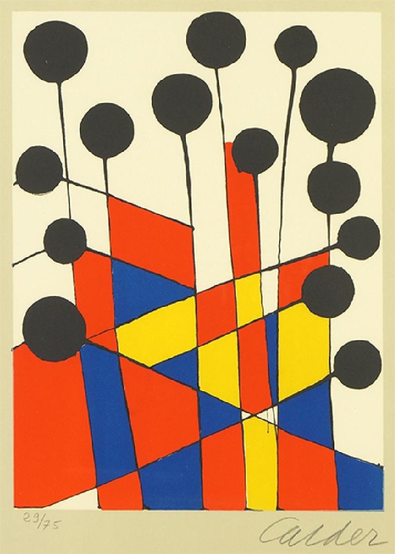 Alexander Calder (American, 1898-1976) Balloons.