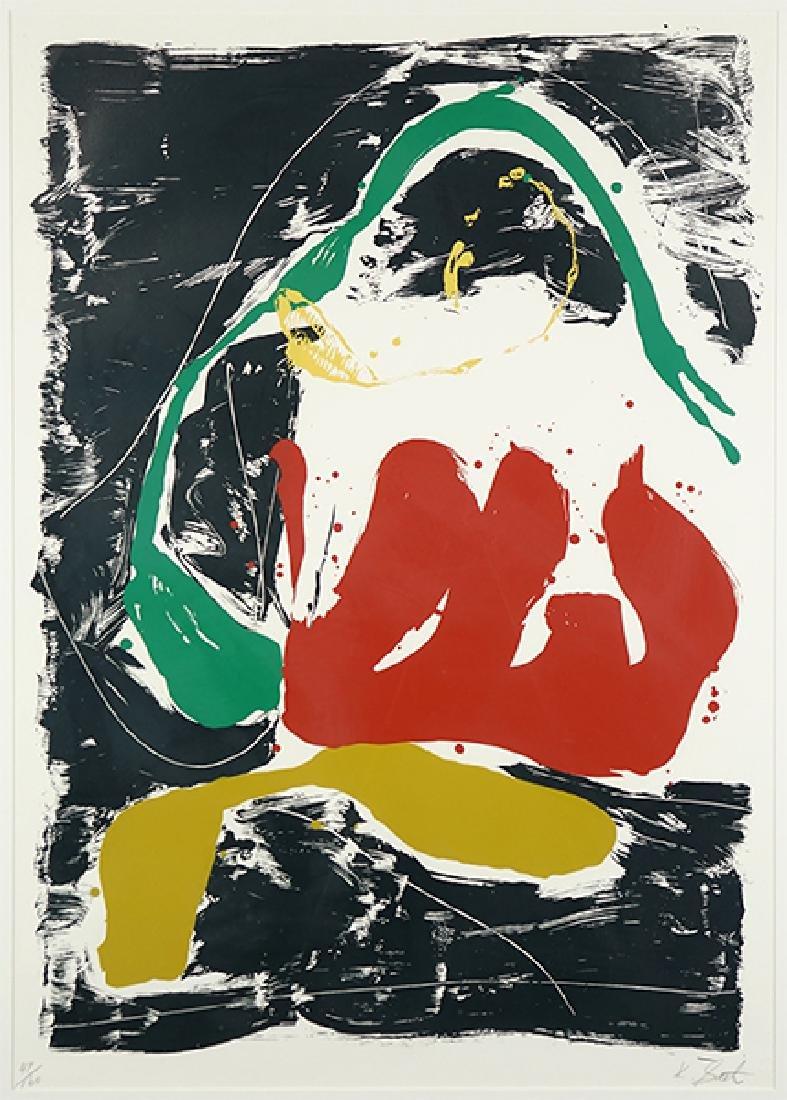 Kikuo Saito (Japanese, 1939-2016) Summer Snail.