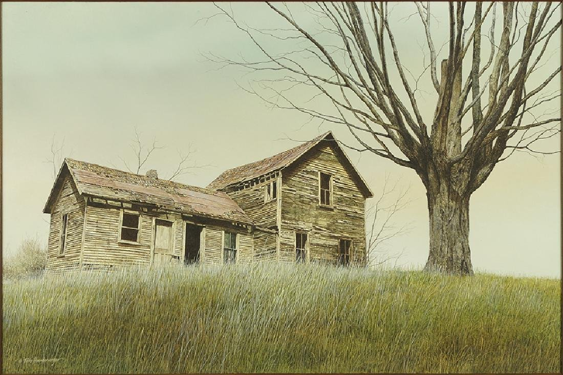 Frits Hoendervanger American B 1947 Old Farm House