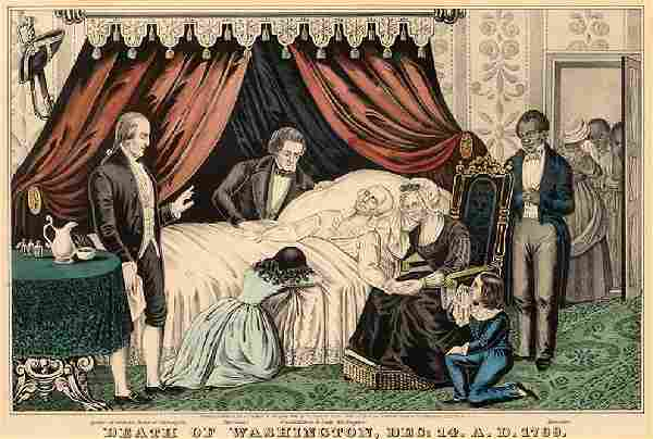 Nathaniel Currier (American, 1813-1888) Death of