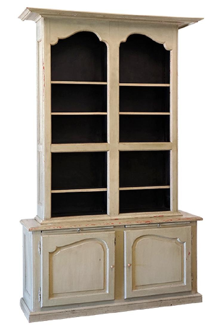 A Painted Pine Cabinet.