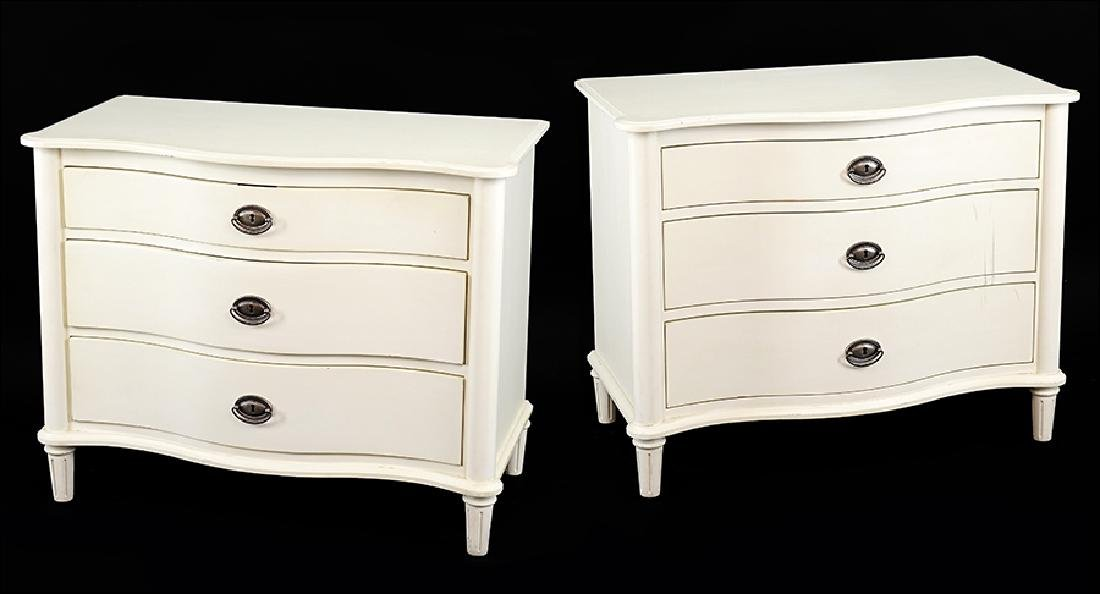 A Pair of Contemporary Chests.