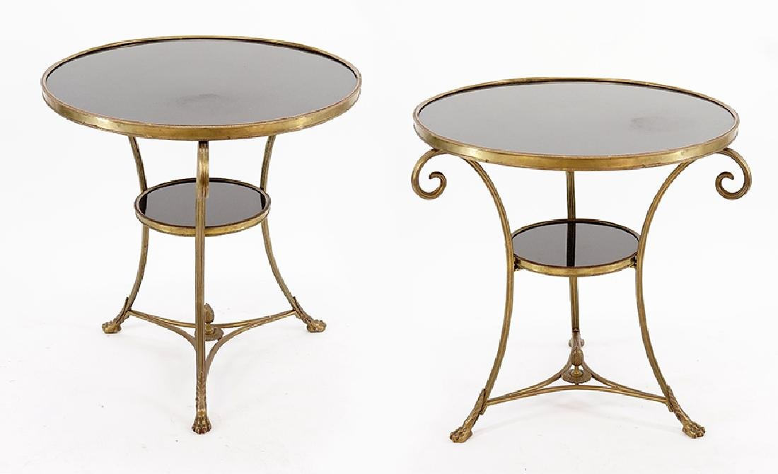 A Pair of Gueridon Tables.