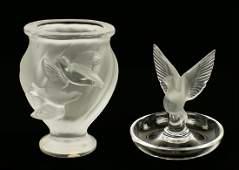 A Lalique 'Rosine' Vase.