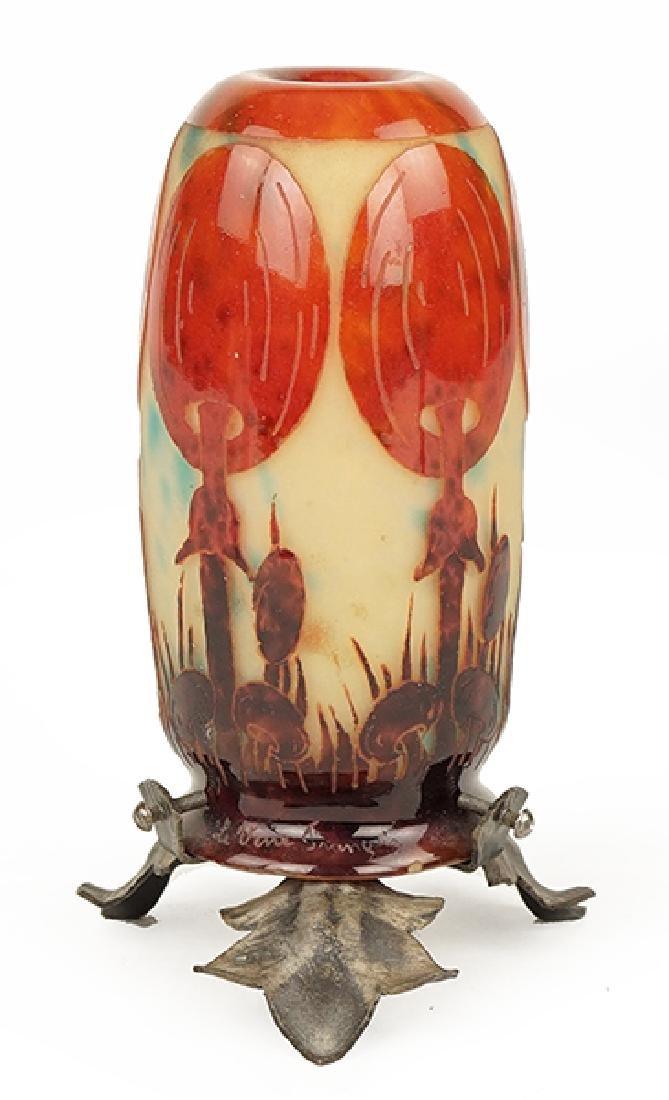 A La Verre Francais Table Lamp.