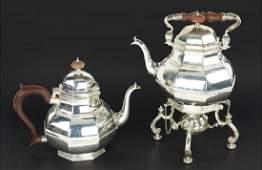 A Tiffany  Company Sterling Silver Partial Tea