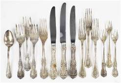 A Reed  Barton Sterling Silver Partial Flatware