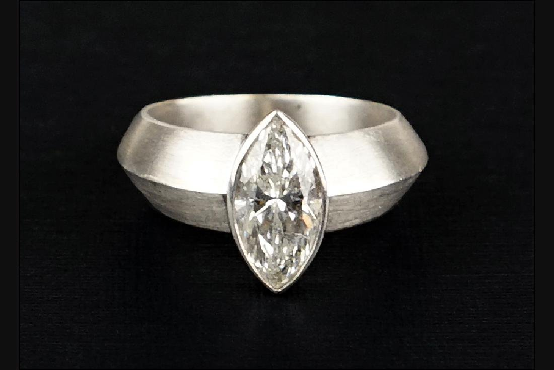 A Marquise Diamond Ring.