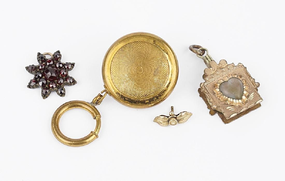 A Collection of Victorian Jewelry.
