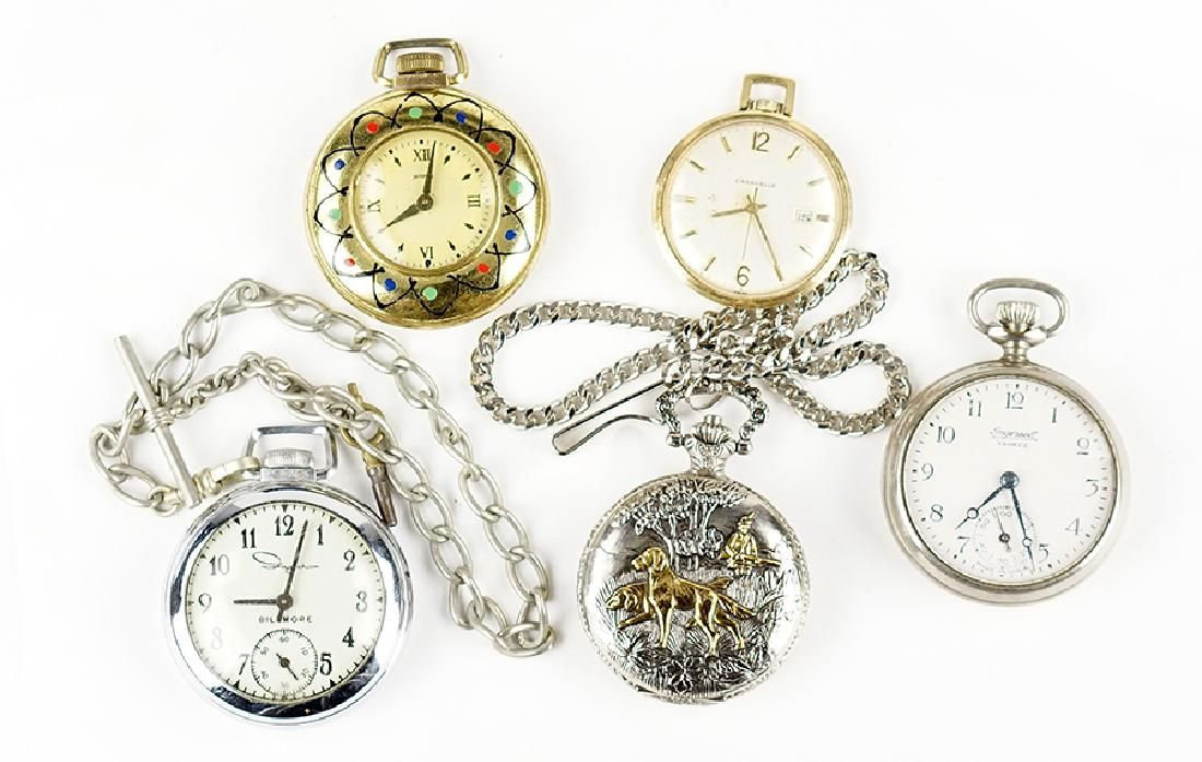 A Collection of Pocket Watches.
