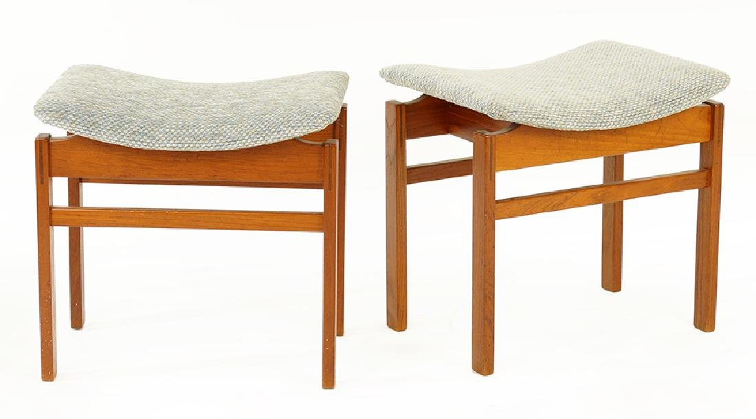 A Pair Of Stools.