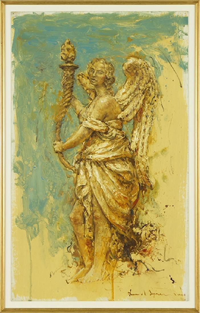 Ruud Krijnen (B. 1949) An Angel.
