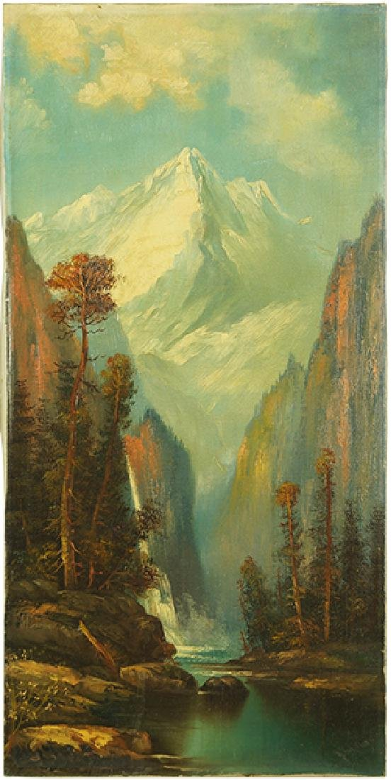 Artist Unknown (American, 19th-20th Century) Mountain