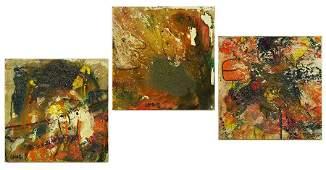 Matt Lamb (American, 1932-2012) Three Works.