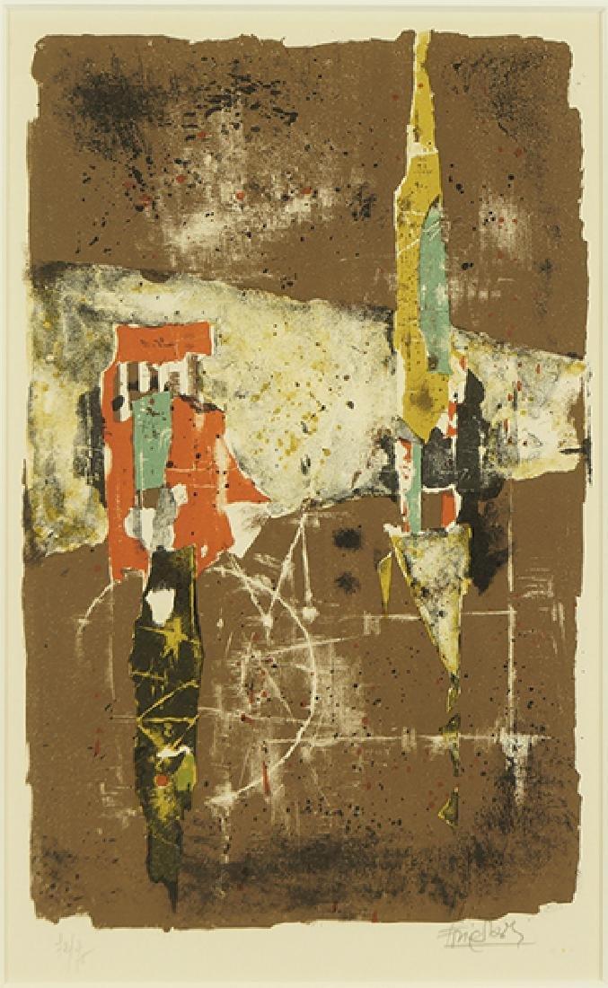 Johnny Friedlaender (German, 1912-1992) Legrand Paudis.