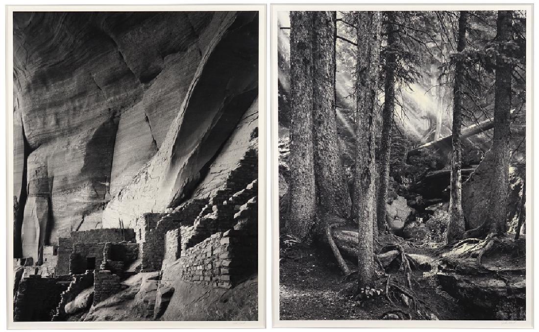 John Ward (American, B. 1943) Two Works.