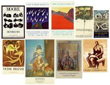 A Collection of Exhibition Posters.