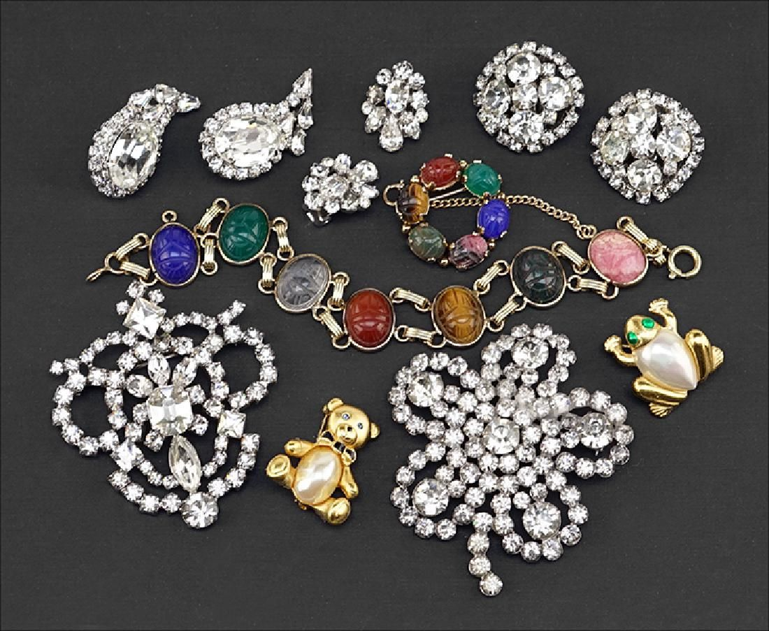 A Collection of Jewelry.