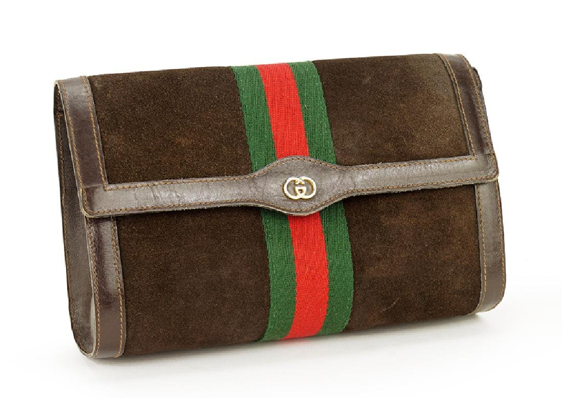 A Gucci Clutch.