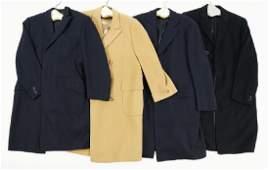 Four Men's Top Coats.