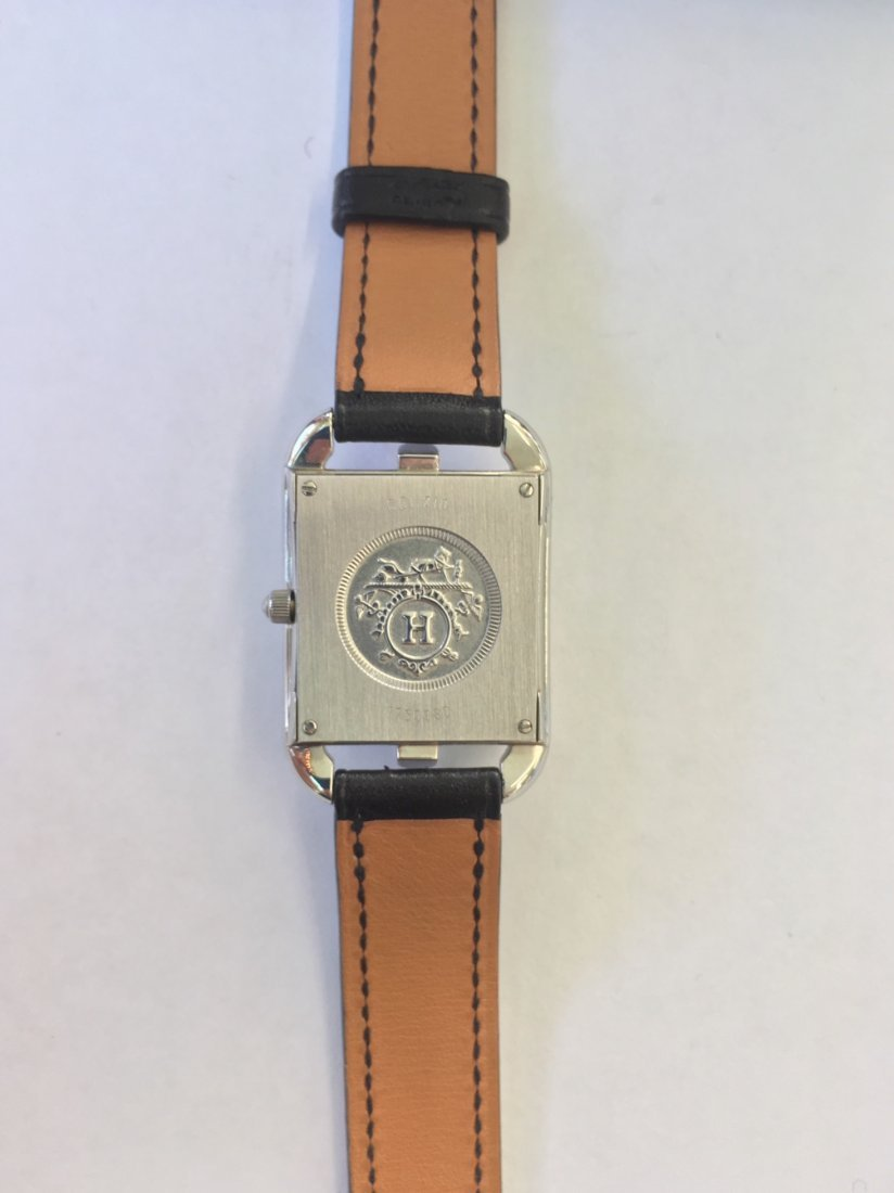 An Hermes Cape Cod Watch. - 2