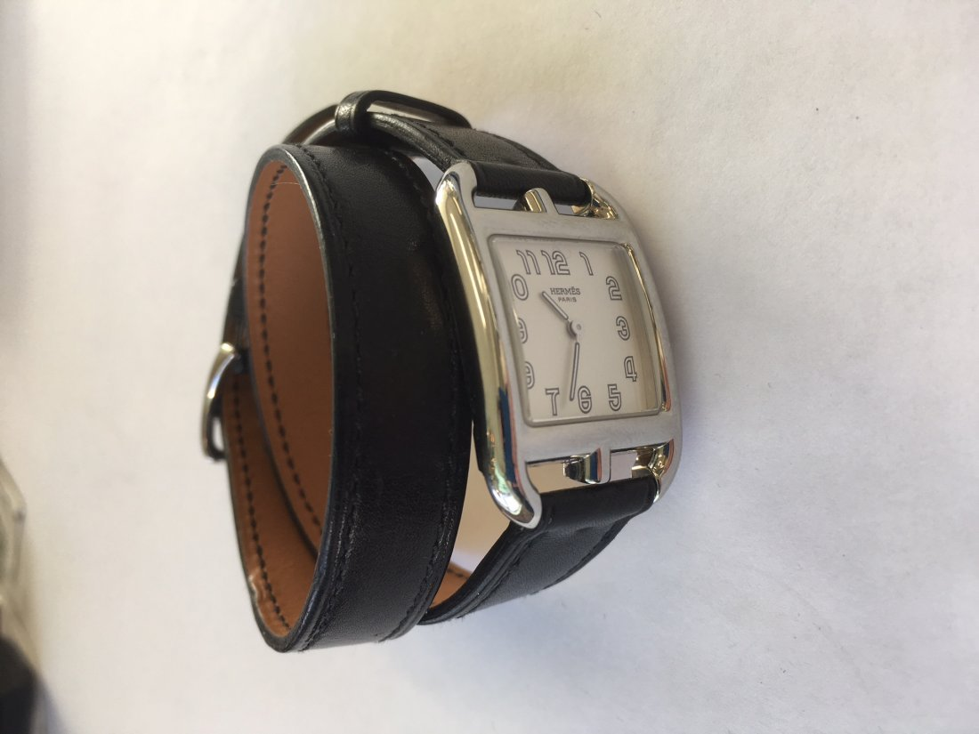 An Hermes Cape Cod Watch. - 4
