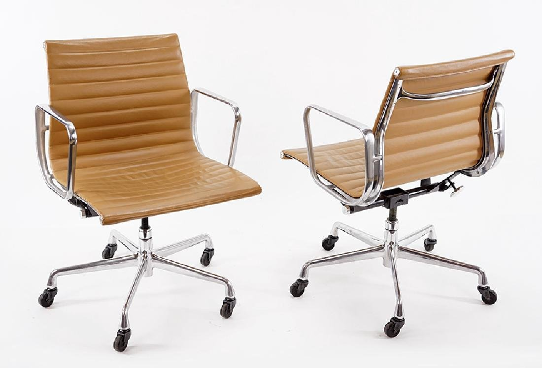 A Set of Eight Eames 'Group' Chairs.