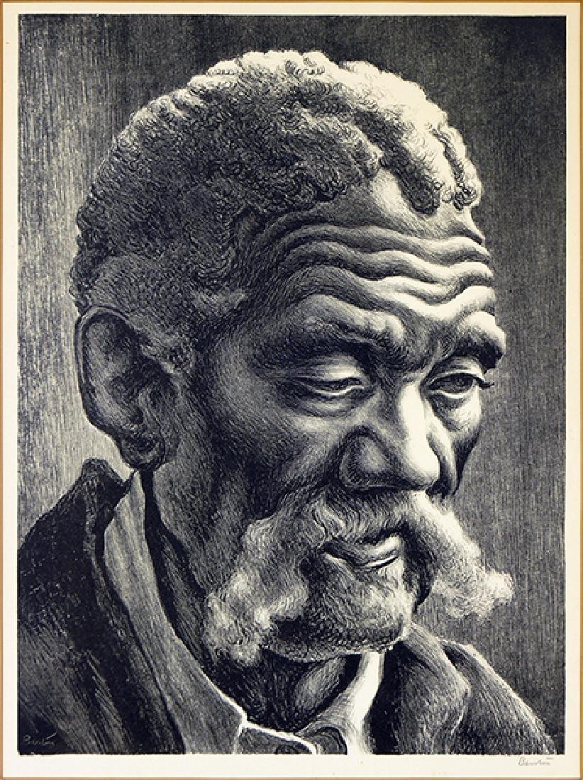 Thomas Hart Benton (American 1889-1975) Aaron.