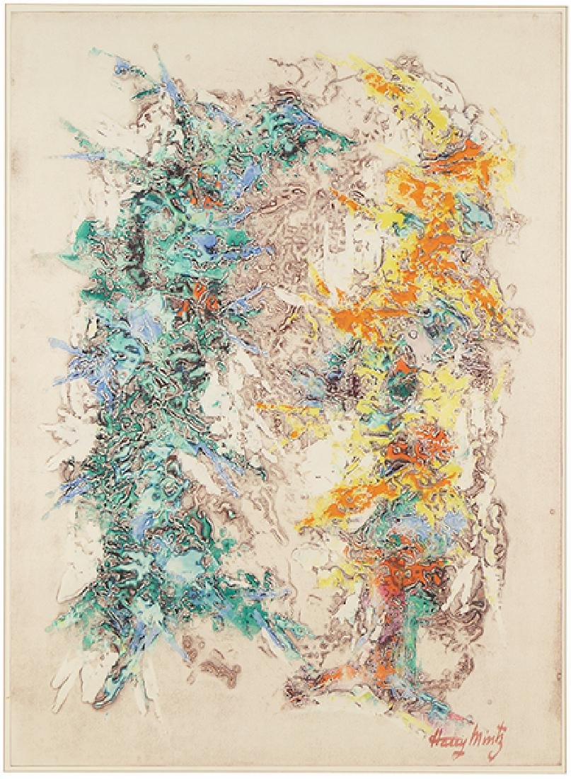 Harry Mintz (American, 1907-2002) Untitled.