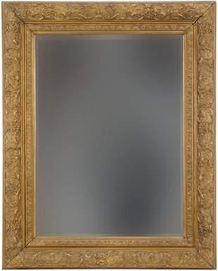 A Giltwood Mirror.
