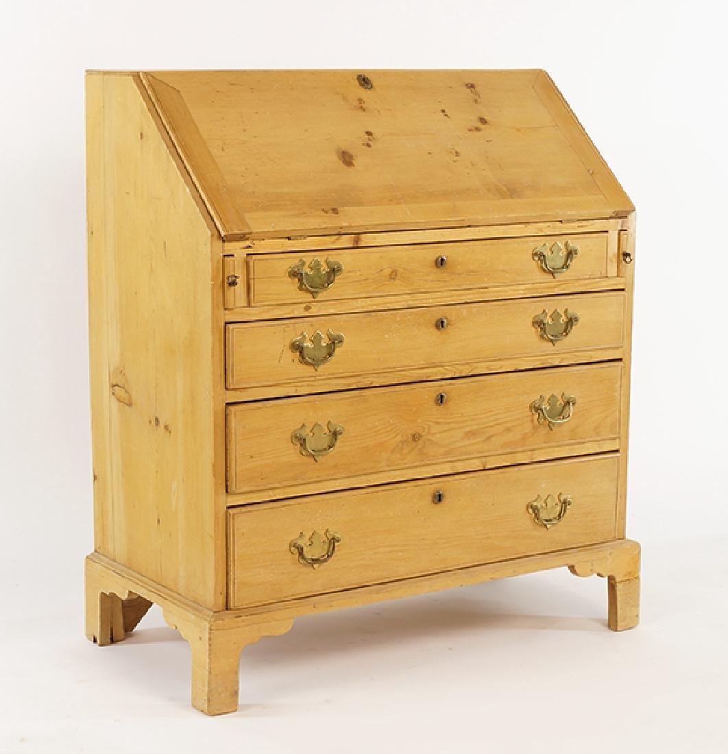 A Pine Slant Front Desk.