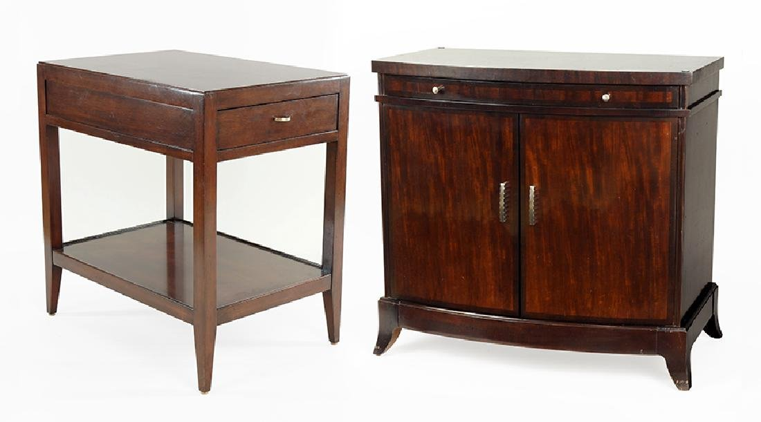 A Pair Of Woodbridge Cabinets.
