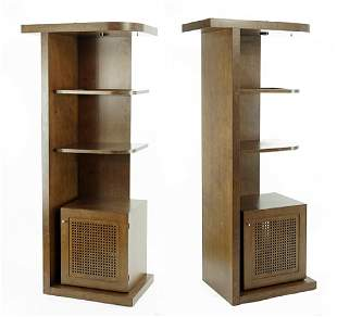 A Pair Of Cabinets.