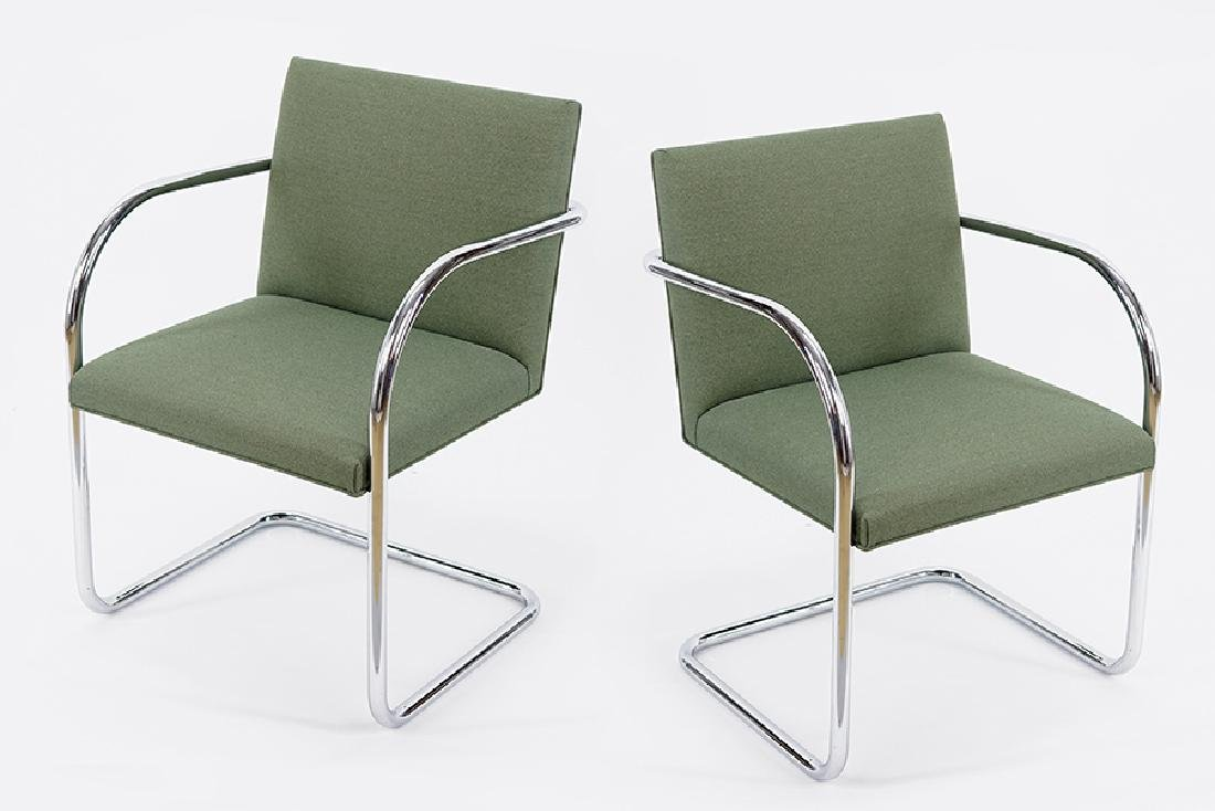 A Set Of Eight BRNO Chairs.