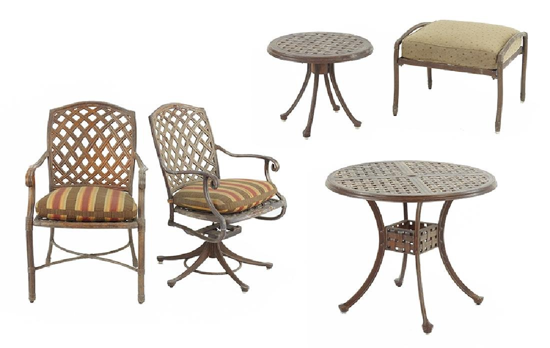 A Suite Of Outdoor Furniture.