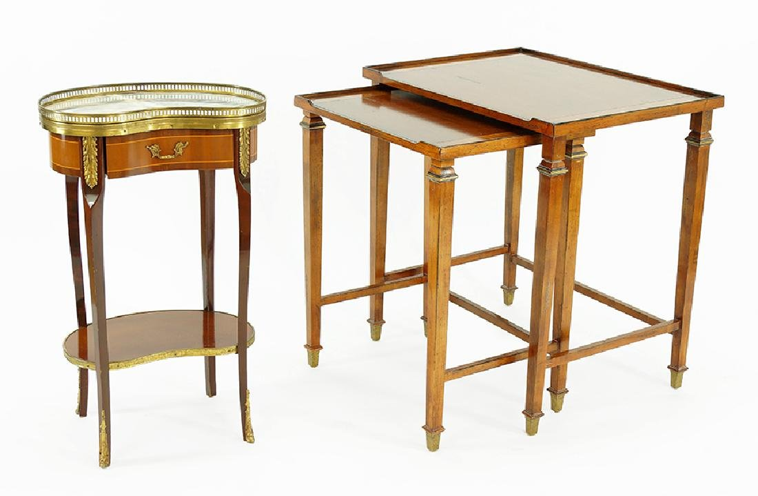 A Nest Of Two Tables.