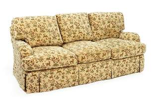 A Three Cushion Sofa.