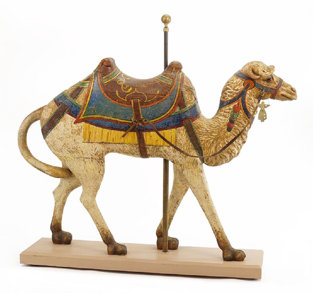 A Carousel Camel.