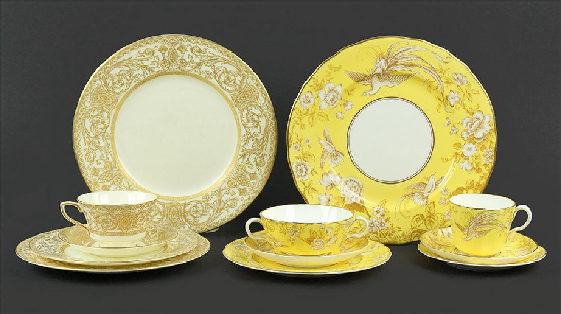 Two Royal Worcester Partial Dinner Services.